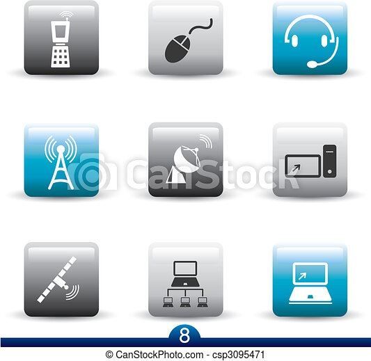 Icon series 8 - communication - csp3095471