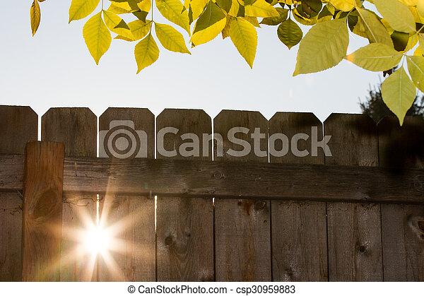 Sunlight outside