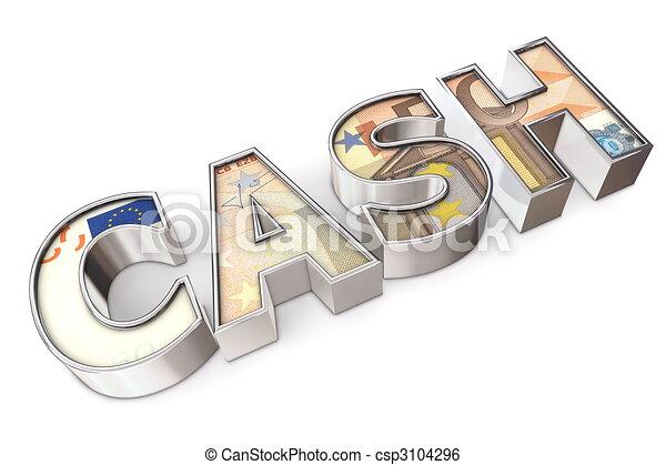 Texture Cash Euro - csp3104296