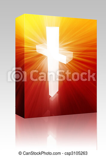 Christian cross box package - csp3105263