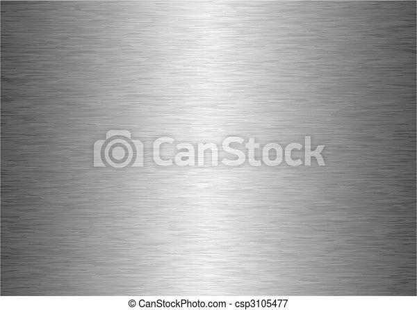 gray metal background - csp3105477