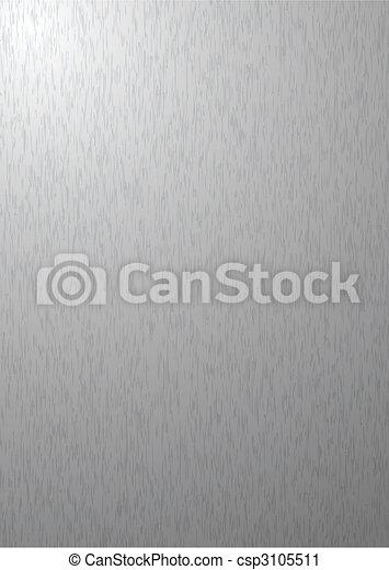 silver metal background - csp3105511