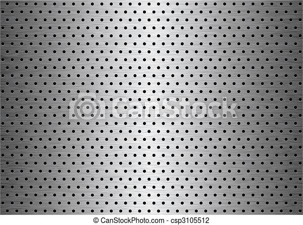 sheet metal background - csp3105512