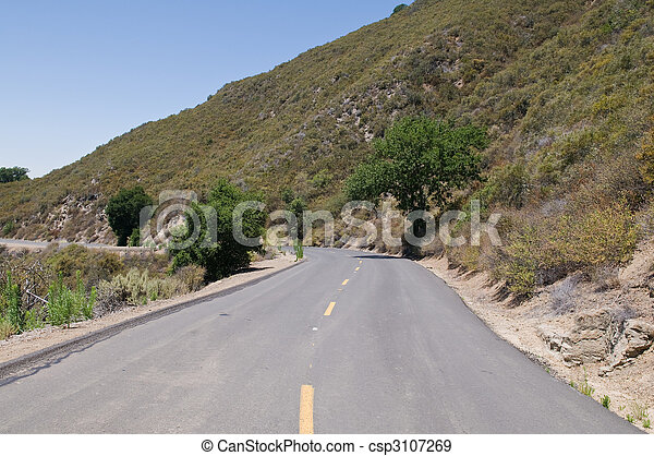 Mt. Diablo road - csp3107269