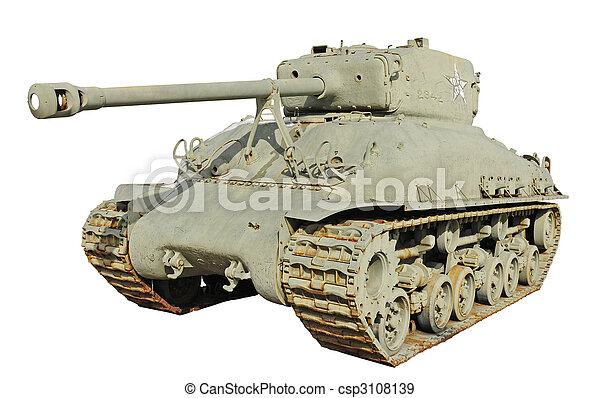 us army tank-T26 - csp3108139