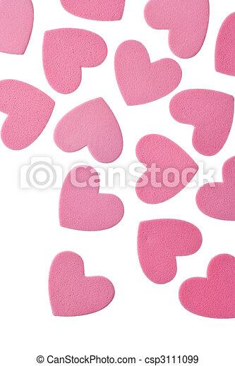 valentine\'s, cœurs, jour - csp3111099