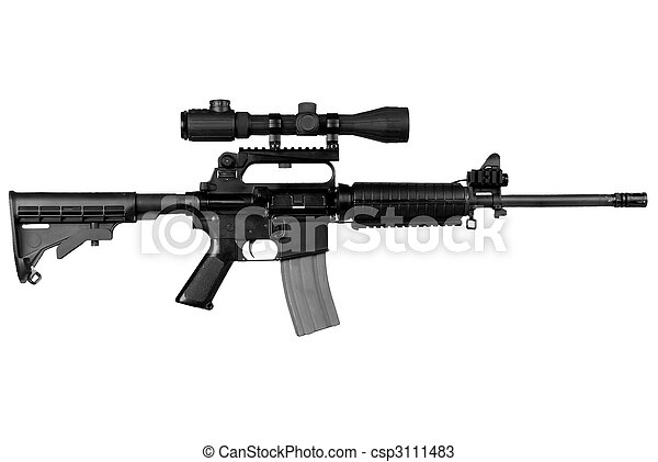 Military Rifle - csp3111483