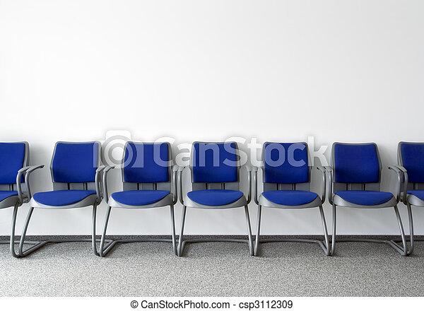 Ordinary waiting room - csp3112309