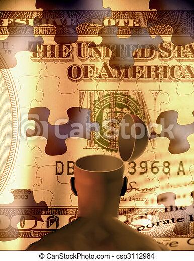 Open Mind Creative Wealth - csp3112984