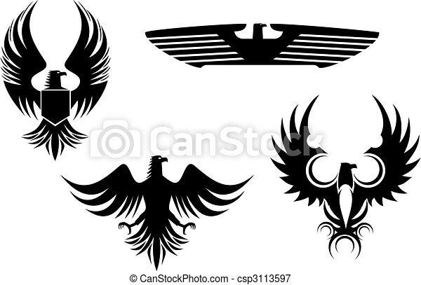 Eagle tattoos - csp3113597