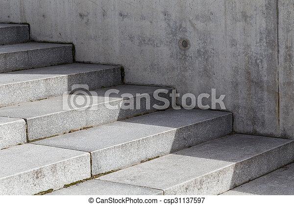 stock fotografien von treppenhaus beton abstrakt modern beton treppe zu csp31137597. Black Bedroom Furniture Sets. Home Design Ideas