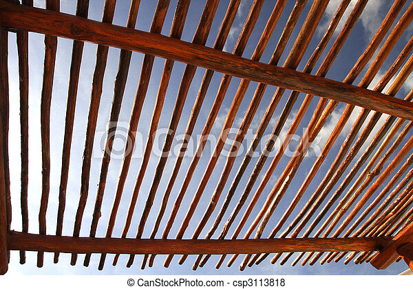 pictures of sun shade view of a wooden pergola roof sun. Black Bedroom Furniture Sets. Home Design Ideas