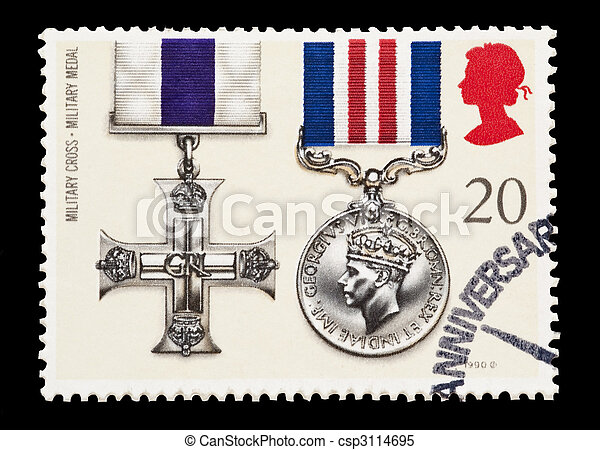 military cross - csp3114695
