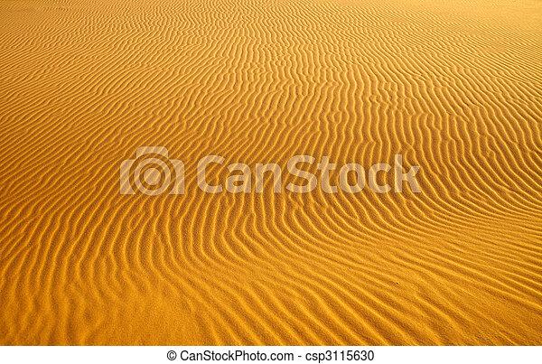 rippled sand dune background