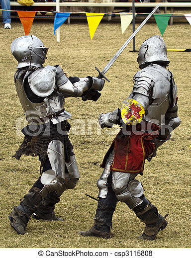 Knights at Battle - csp3115808