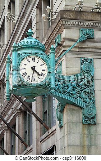 Landmark clock - csp3116000