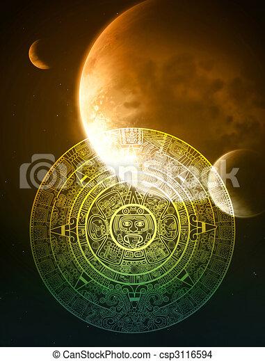 Maya prophecy - csp3116594