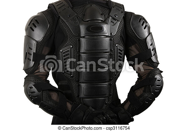 Protective suit for motorbike - csp3116754