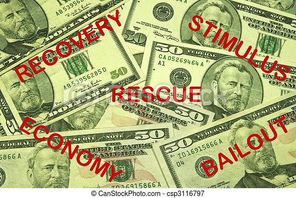 ECONOMIC RECOVERY CONCEPT - csp3116797