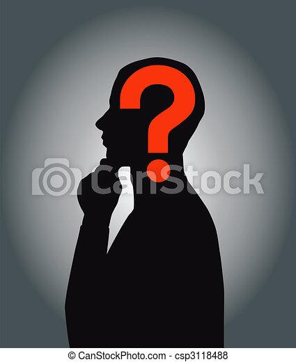 Thinking men - csp3118488