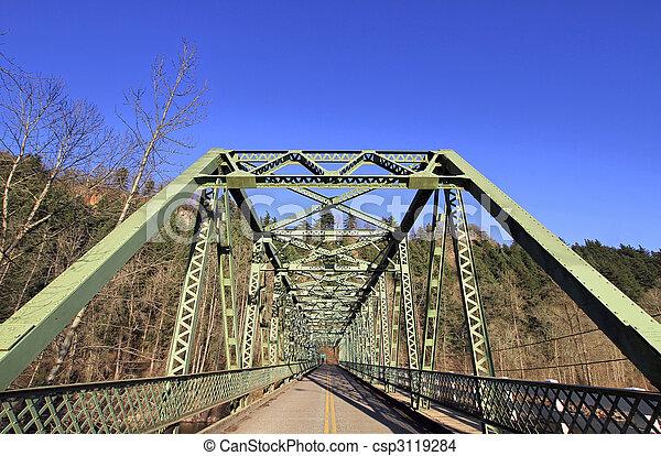 Sandy River Bridge at Columbia Gorge Scenic Highway - csp3119284
