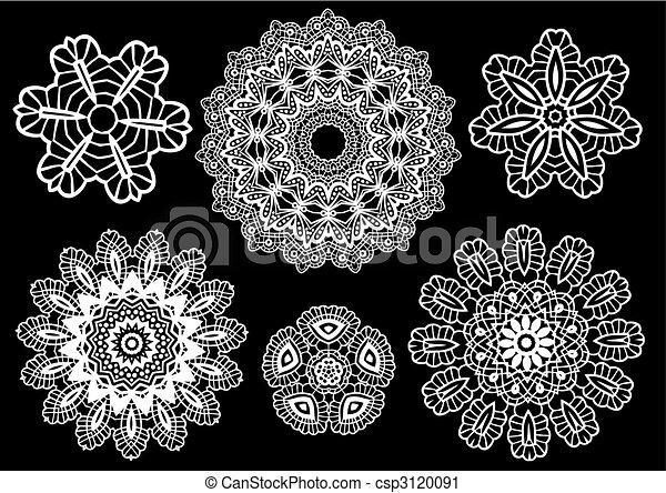 lace pattern - csp3120091