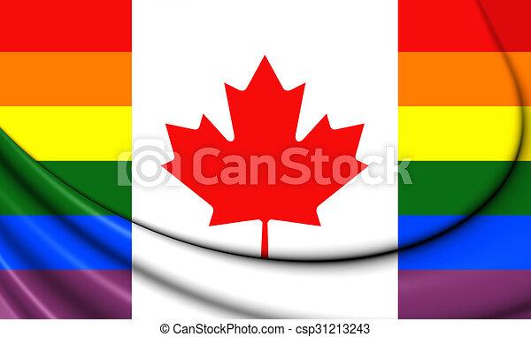 Digital image 11 x17 gay flag