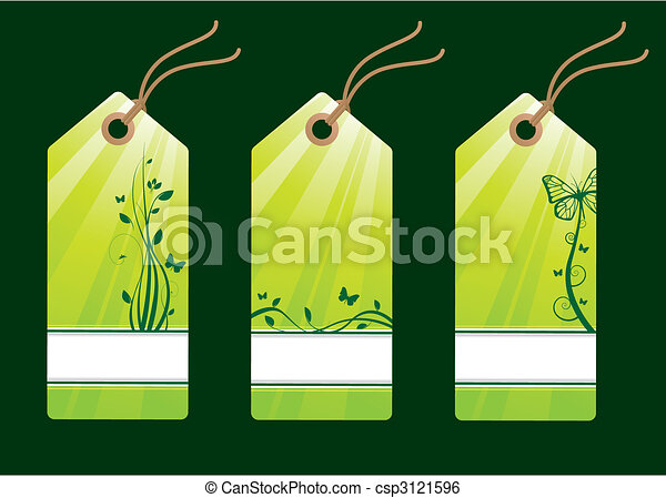 Floral sale tags - csp3121596
