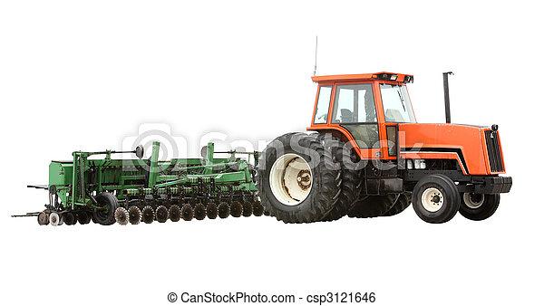 Farm Tractor - csp3121646