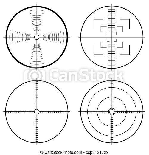 hunting sight tragets - csp3121729