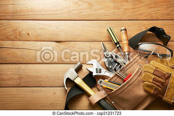 tools in tool belt - csp31231723