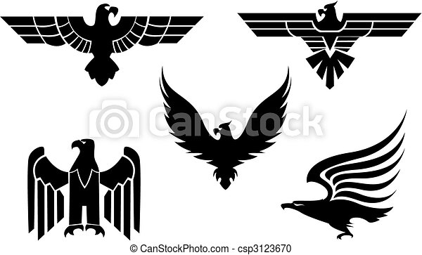 Eagle tattoos - csp3123670