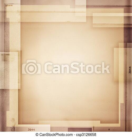 sepia toned background - csp3126658