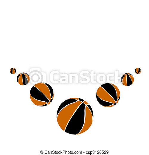 Sports balls.Vector illustration - csp3128529