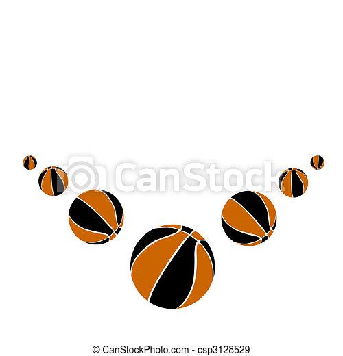 Sports balls.Vector illustration - csp3128529