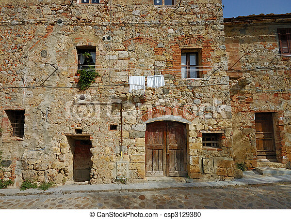 Stock Photography Of Old Stone House In Tuscany Old