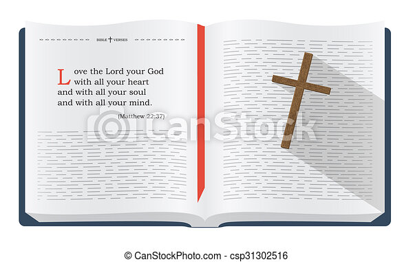 Clipart of Bible verses about how to love God - Best Bible verses ...