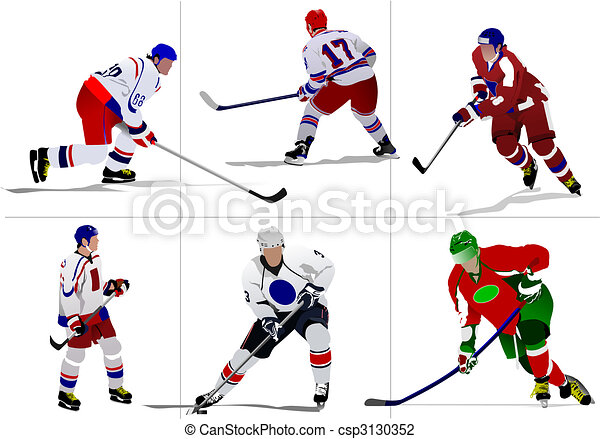 accessories, artwork, background, champion, championship, coach,competition, games, helmet, hockey, ice, illustration, outfit, player, protection, puck,skates, skating-rink, sport, sportsman, training, uniform, winter, goalkeeper - csp3130352