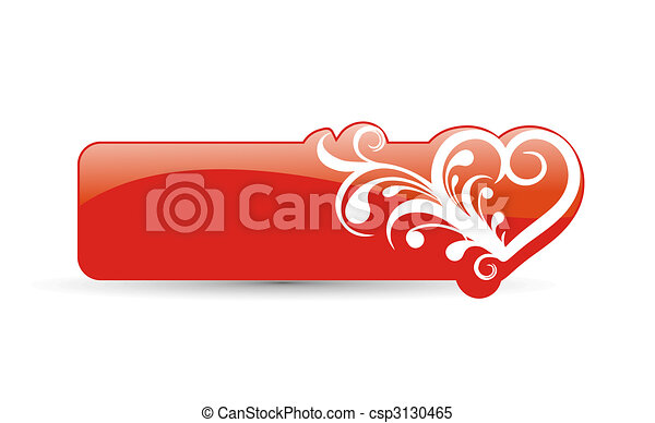 valentine\'s day card  - csp3130465