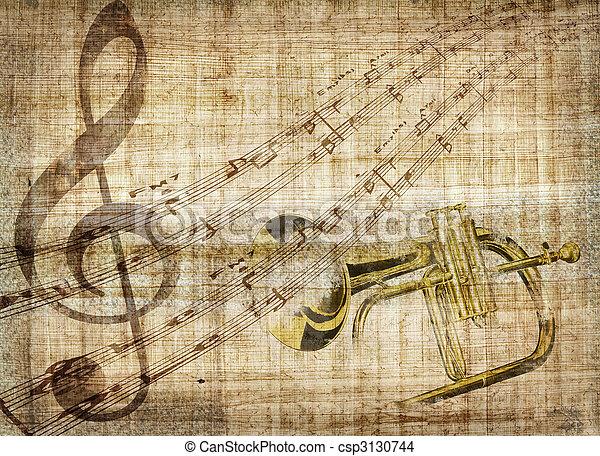 Music background - csp3130744