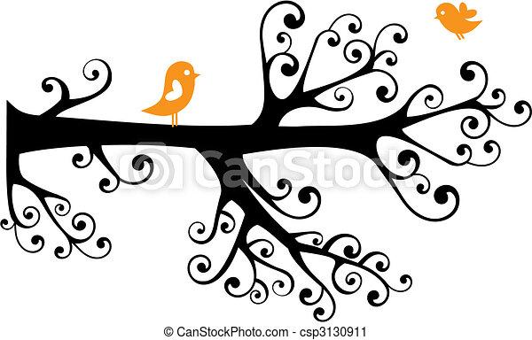 ornamental tree - csp3130911