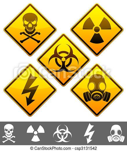 Warning signs. - csp3131542