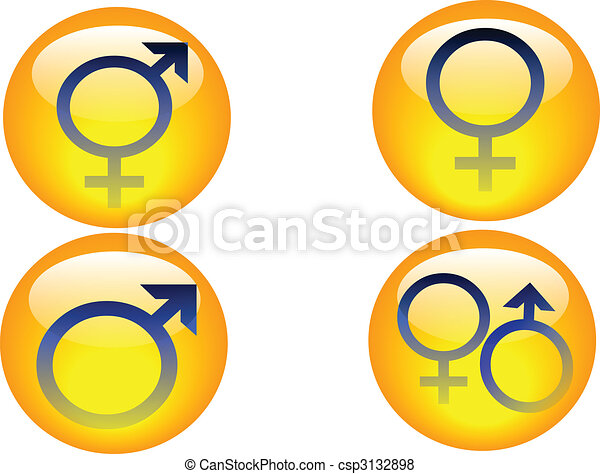 gender icons - csp3132898