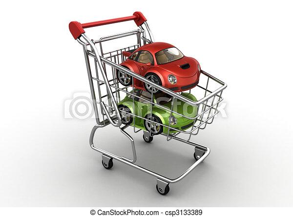 Choose a new car - csp3133389