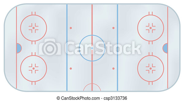 Ice hockey rink - csp3133736