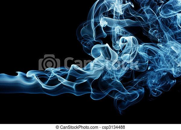 Blue smoke - csp3134488