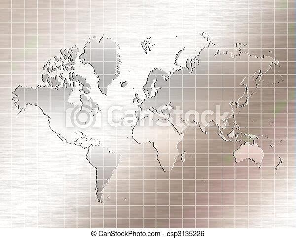 Reflective Earth - csp3135226