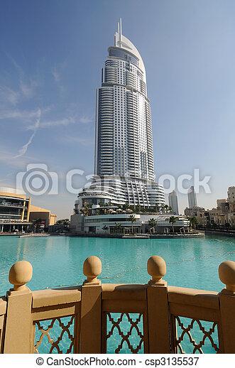 The Address Hotel in Dubai, United Arab Emirates