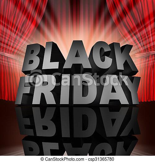 Black Friday Event - csp31365780