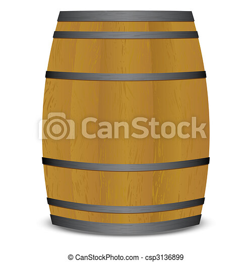 beer keg barrel - csp3136899